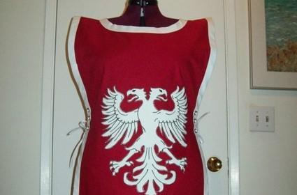 A real-life tabard for the Keepers of Stromgarde