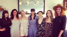 '2 Broke Girls' Star Beth Behrs Shares Sweet Bridal Shower Snaps With Kat Dennings