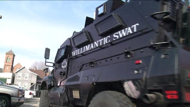 Willimantic Police Ready For Anything With Armored Truck