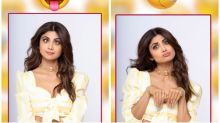 Shilpa Shetty Recreates Every Emotion with Funny Expressions on World Emoji Day