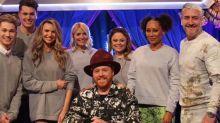 I'm A Celebrity's Emily Atack kisses Spice Girl Mel B on Celebrity Juice