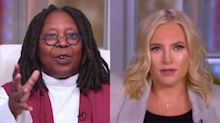 "Whoopi Goldberg explains to Meghan McCain why Trump's Supreme Court nominee won't get ""Kavanaugh'ed"""