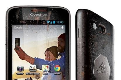 Quechua's new smartphone aims to tag along on your next wild adventure