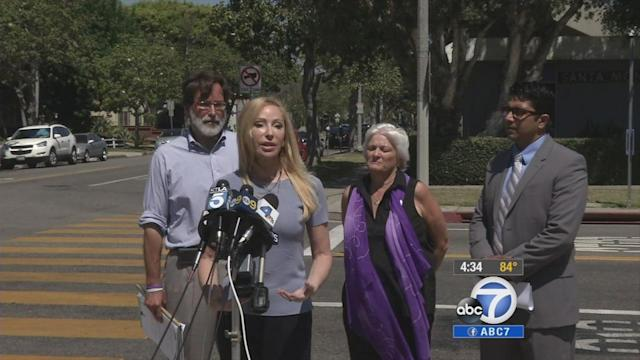 Gun control urged at scene of Santa Monica shooting
