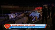 Boardwalk collapse injures hundreds in Spain