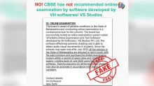 CBSE Directed Schools to Conduct Online Exam by Purchasing an App Developed by VH Softwares? PIB Debunks Fake News, Here's the Truth