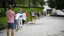 Early voting starts in Florida as US race enters home stretch