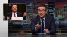 John Oliver Points Out the Weirdest Parts From the James Comey Hearing
