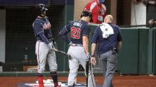 Braves' Duvall out rest of post-season, replaced by Camargo