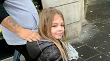 This six-year-old girl spent Christmas Day handing out goodie bags to the homeless