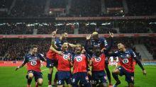 Foot - L1 - Lille - Lille présente son nouveau maillot domicile