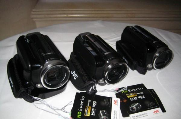 Hands-on with JVC Everio HD10, HD30 and HD40 camcorders