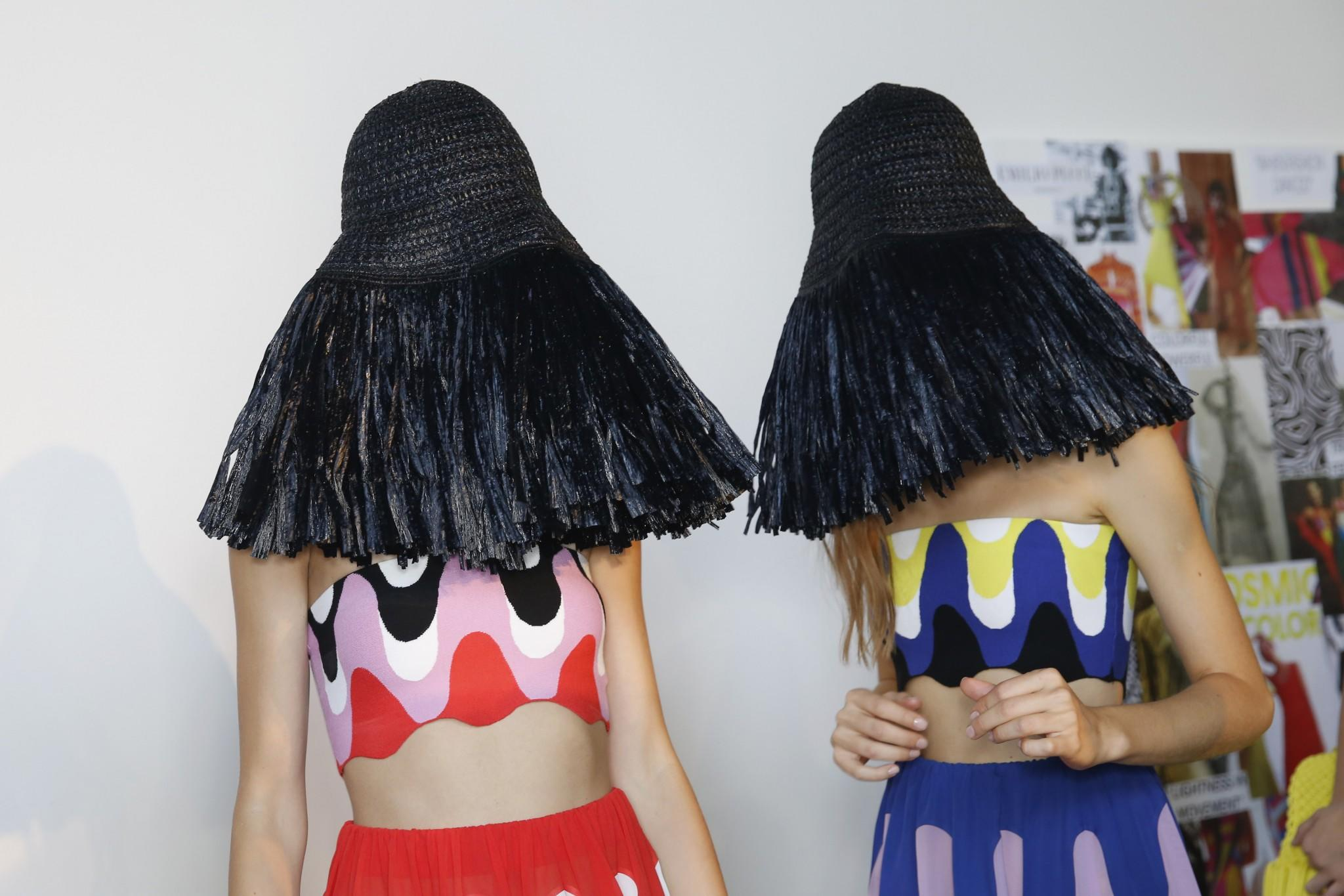 There Were Some Crazy Hats at Milan Fashion Week 56168160fcf8
