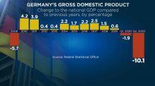 Germania, economia in picchiata: il PIL crolla del 10,1%