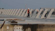 Venedig testet umstrittene Hochwasserschutz-Anlage