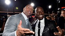 Tyrese Gibson Blames Dwayne 'The Rock' Johnson for 'Fast & Furious 9' Delay