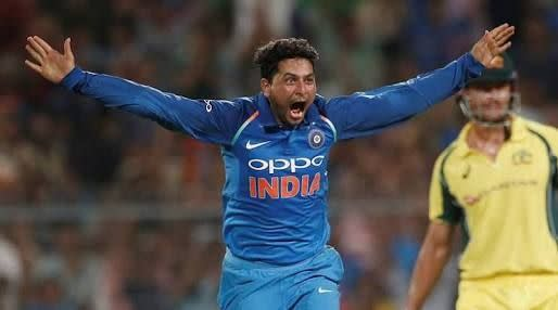 Kuldeep picked up two vital wickets in the Aussie innings