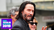 Keanu Reeves had a most excellent 2019 — vote for your favorite moments