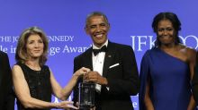 Michelle Obama Continues to Show off Her Shoulders Post Presidency