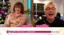 John Barrowman surprises 'Lorraine' viewers with unexpected Scottish accent