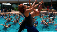 What is aqua zumba all about?