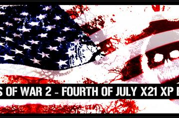 Experience 21x XP during Gears 2's 4th of July weekend