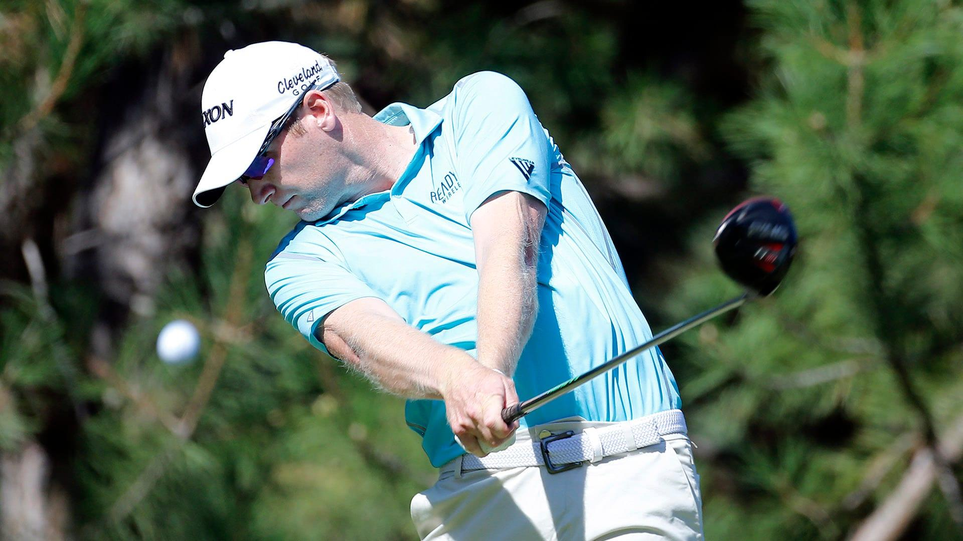Brehm (63) grabs lead at midway point of Korn Ferry Tour's Boise Open