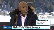 SARB's Kganyago Says There Was 'No Argument' About a 50 Basis-Point Cut