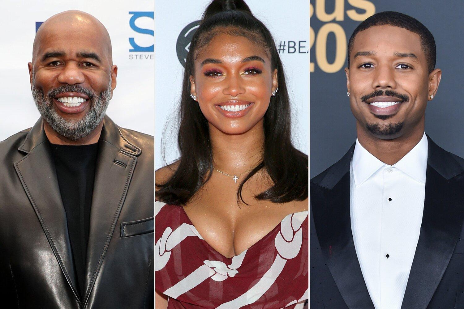 Steve Harvey Reacts to Daughter Lori's Relationship with Michael B. Jordan: 'Got My Eye on Him'