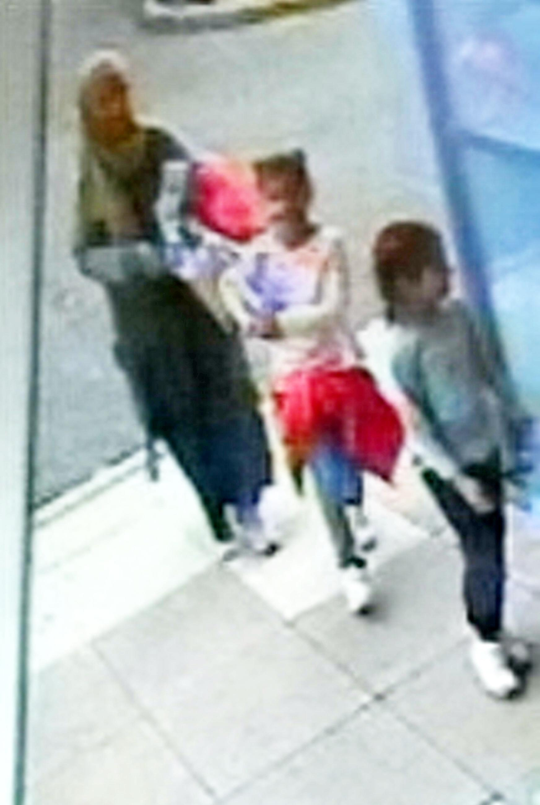 Staffordshire Police have appealed for any information about the mother and her daughters (Picture: SWNS)