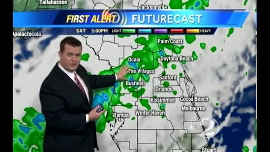 Saturday Outlook: Much Needed Rain Returns to Central Florida
