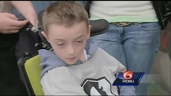 Disabled boy's WrestleMania memeories stolen by thief
