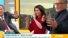 'Good Morning Britain's' age-fluid guest shocks Piers Morgan with language