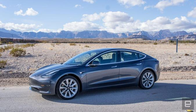 Tesla S Model 3 Finally Goes On Sale In The Uk Engadget