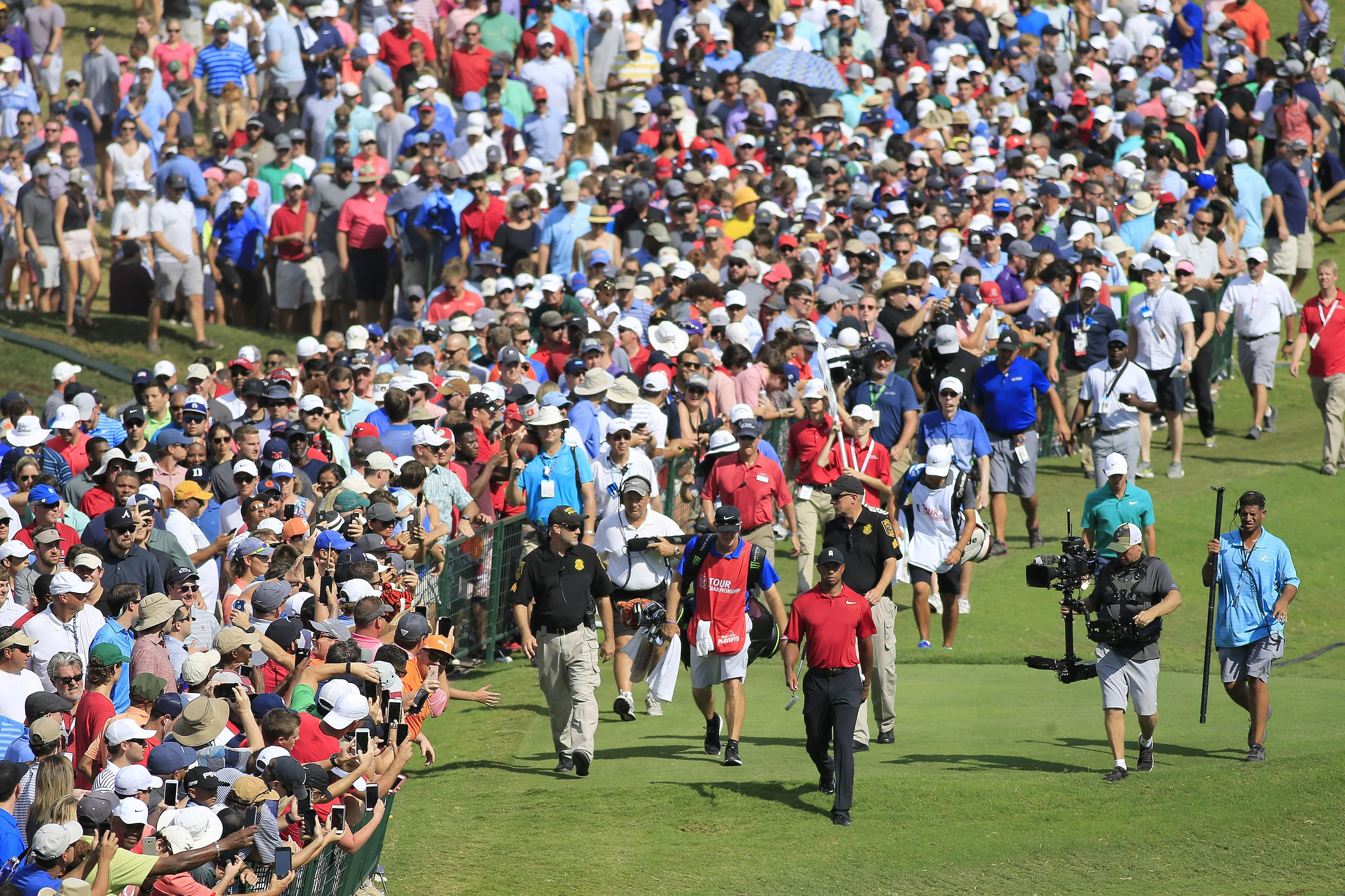 tiger woods u0026 39  absence at wells fargo is understandable  but