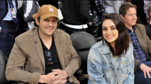 Mila Kunis and Ashton Kutcher shut down rumors that they've split: 'It's over between us?'