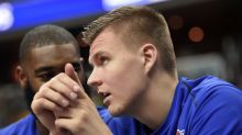 Kristaps Porzingis now has Steph Curry range and a new career scoring high