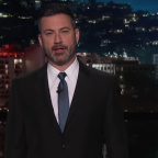 """Jimmy Kimmel Addresses Santa Fe Shooting, Urges Viewers To Vote For Politicians """"Who Will Do Something"""""""