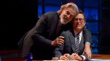 Jeff Bridges re-creates 'Ghost' pottery scene with Stephen Colbert