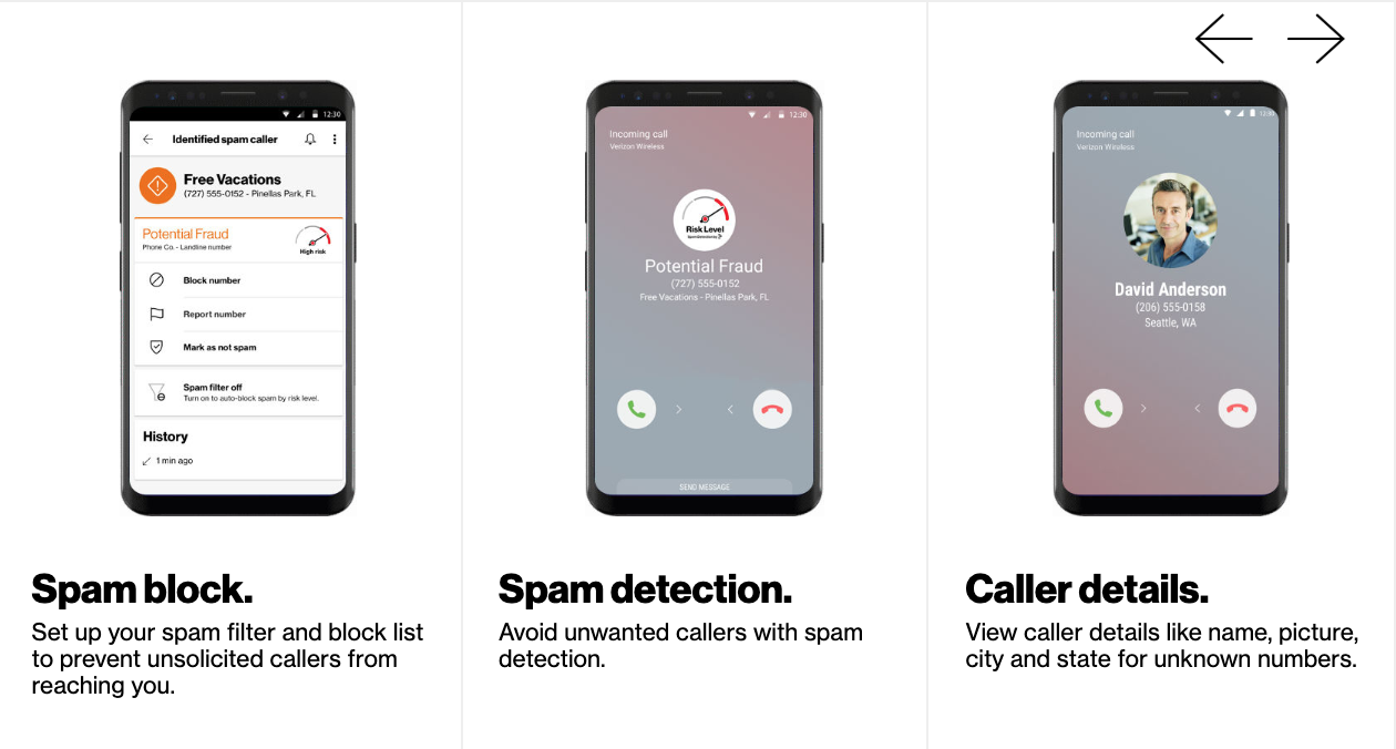 QnA VBage Verizon adds free 'Call Filter' feature in bid to fight robocalls