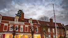 Quaint Suffolk town left disappointed after Christmas tree swapped for tinsel-decorated flagpole
