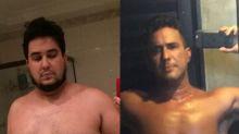 Após perder 70 kg, André Marques posta comparação e faz desabafo