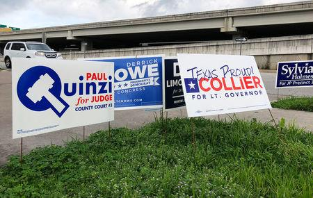 Primaries start with Dem push in Texas