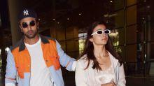 Amidst marriage rumours, Ranbir and Alia return to Mumbai from a European vacation