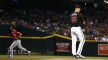 Bryce Harper greets debuting D-Backs pitcher with Statcast-breaking homer