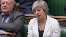 Theresa May tells MPs to back Boris Johnson's Brexit deal