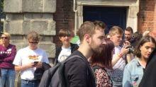 Singing and Cheering Erupt in Dublin Castle as Irish Voters Await Referendum Result