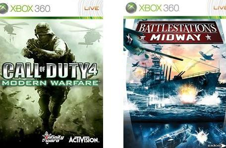 Games on Demand: Call of Duty 4, Battlestations: Midway