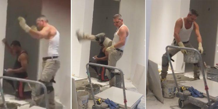 Toronto construction worker dances up a storm to Ariana Grande, becomes a viral sensation