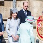 See All the Photos of the Royal Family Attending Easter Church Services This Morning